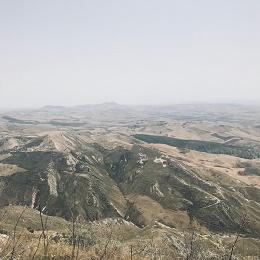 Assoro terrain