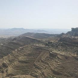 Centuripe terrain