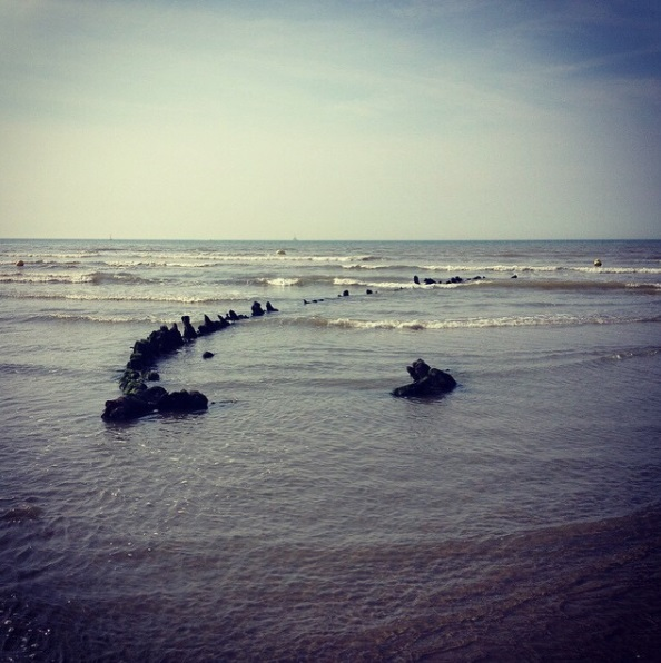 Dunkirk Bray Beach Shipwreck