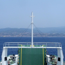 Ferry to Italian mainland