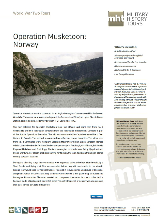 Operation Musketoon Trip