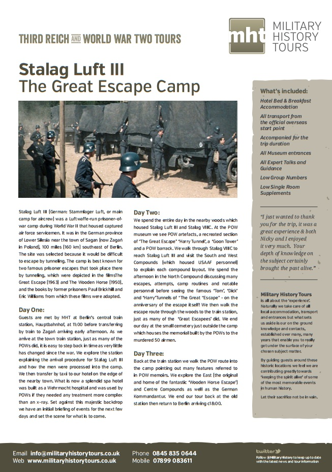 Stalag Luft III The Great Escape Camp Image