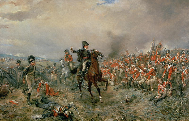 The-Duke-of-Wellington-at-Waterloo