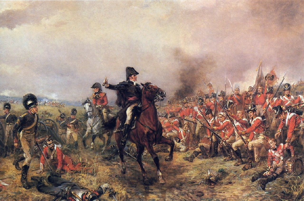 The-Duke-of-Wellington-at-Waterloo1