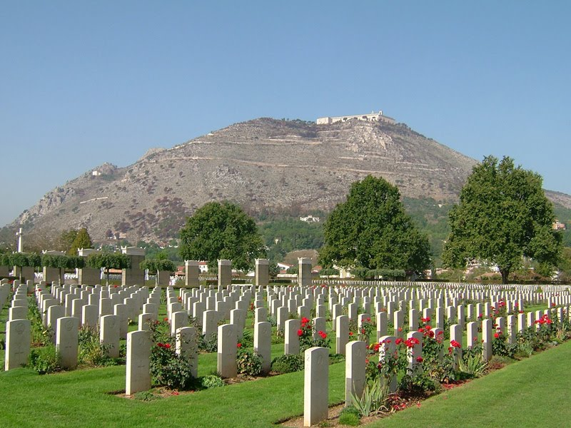 commonwealth cemetery at monte cassino