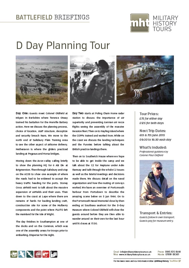 d day planning literature